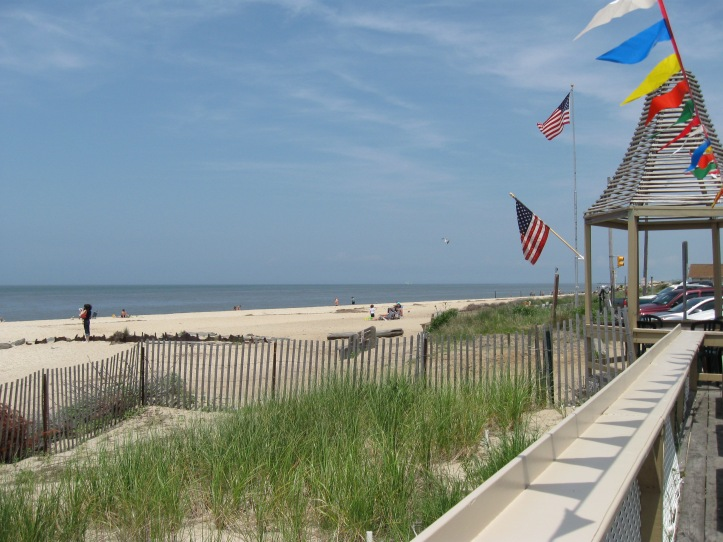 Sunset Beach, Cape May Point, NJ  Copyright 2014 Shirley Sorbello